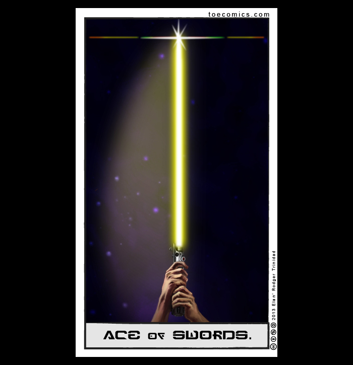 Star Wars Tarot Ace of Swords